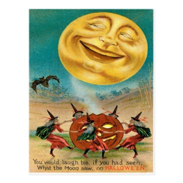 Halloween Themed Vintage Halloween Postcard
