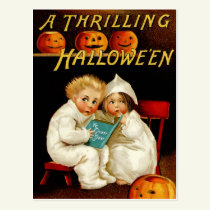 Vintage Halloween Postcard