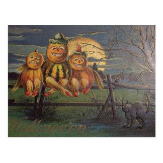 Vintage Halloween - Postcard