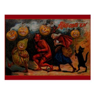 Vintage Halloween Postcard, Raphael Tuck 1909 Postcard