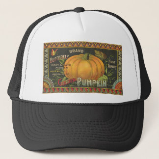 Vintage Halloween Pumpkin Hat
