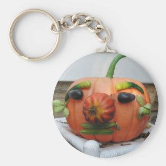Vintage Halloween Pumpkin Keychain