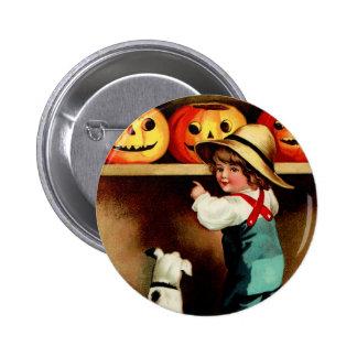 Vintage Halloween Round Button