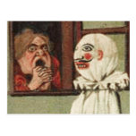 Vintage Halloween Scare Card Postcards