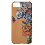 Vintage Halloween Scene iPhone 5C Case