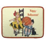Vintage Halloween Scene Sleeve For MacBook Pro