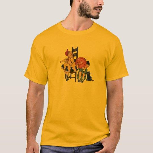 Vintage Halloween Scene T-Shirt