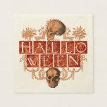 Vintage Halloween Servilletas De Papel