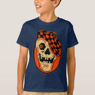 Vintage Halloween Skeleton Mask T-Shirt