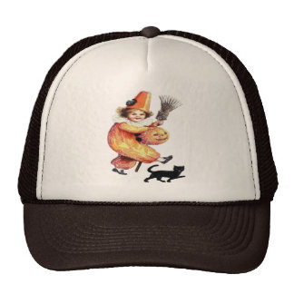 Vintage Halloween Sparkling Costume Party Trucker Hats