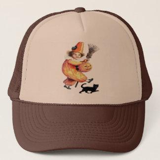 Vintage Halloween Sparkling Costume Party Trucker Hat