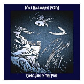 Vintage Halloween Spirit Custom Invite