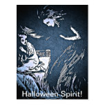 Vintage Halloween Spirit Postcards