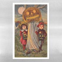 Vintage Halloween Spooky Dry Erase Magnetic Sheet