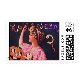 Vintage Halloween Stamp 16