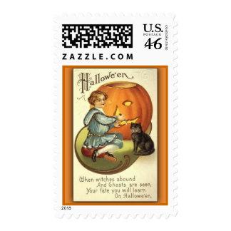 Vintage Halloween Stamp 4