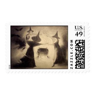 Vintage Halloween stamps