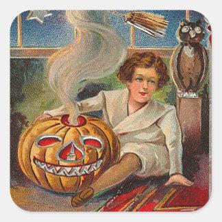Vintage Halloween Stickers - Trick or Treat