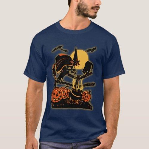 Vintage Halloween T_Shirt