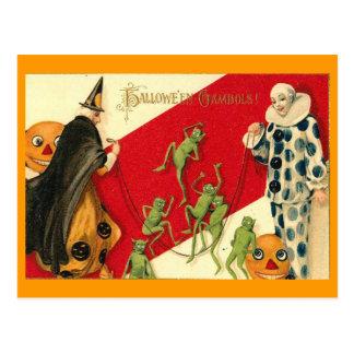 Vintage Halloween Tarjetas Postales