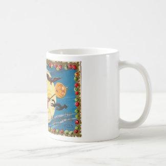 Vintage - Halloween - The Halloween Spirit Classic White Coffee Mug