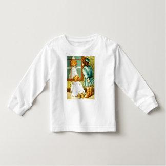 Vintage Halloween Toddler Long Sleeve Shirt