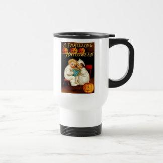 Vintage Halloween Travel Mug