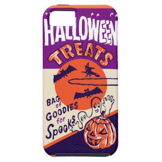 Vintage Halloween Treat Bag iPhone 5 Cases