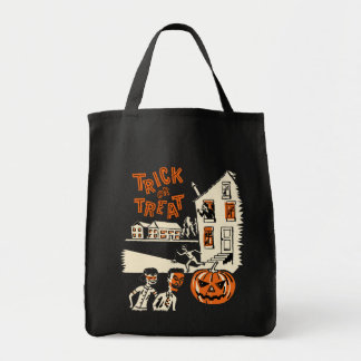 Vintage Halloween Trick or Treat Bag