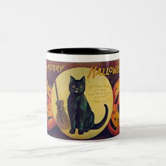 Vintage Halloween Two-Tone Mug