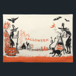 """Vintage Halloween Witch Placemat<br><div class=""""desc"""">Vintage Halloween Witch Placemat</div>"""
