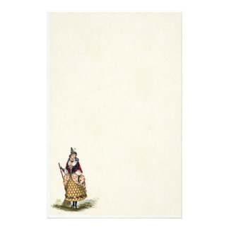 Vintage Halloween Witch Stationery