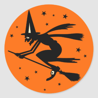 Antique Halloween Stickers | Zazzle