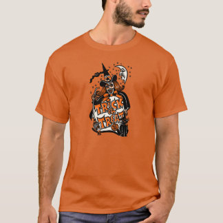 Vintage Halloween Witch Trick or Treat T-Shirt