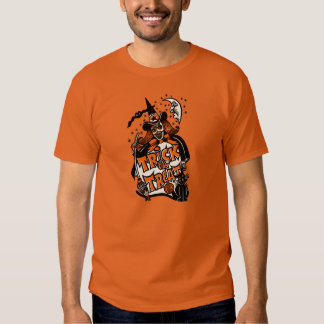 Vintage Halloween Witch Trick or Treat Tshirt