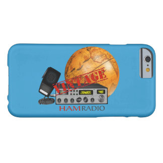 Vintage Ham (radio) Barely There iPhone 6 Case