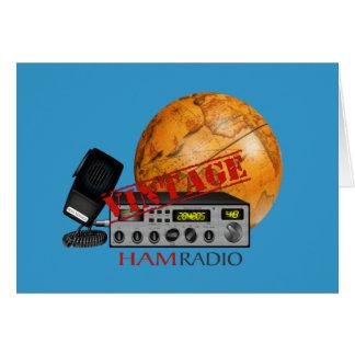 Vintage Ham radio Greeting Cards