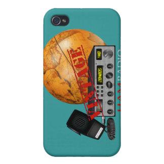 Vintage Ham Radio iPhone 4/4S Cases