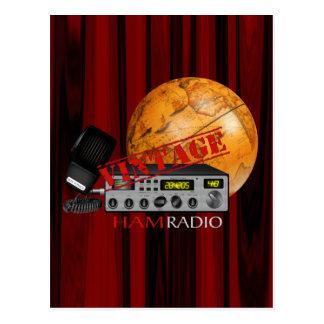 Vintage Ham (radio) Postcard