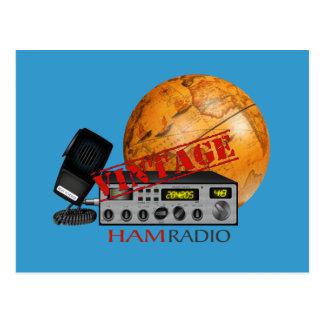Vintage Ham radio Post Cards