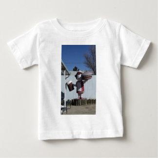 Vintage Hamburger Lady Baby T-Shirt