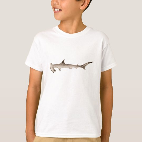 Vintage Hammerhead Shark Illustration Retro Sharks T-Shirt