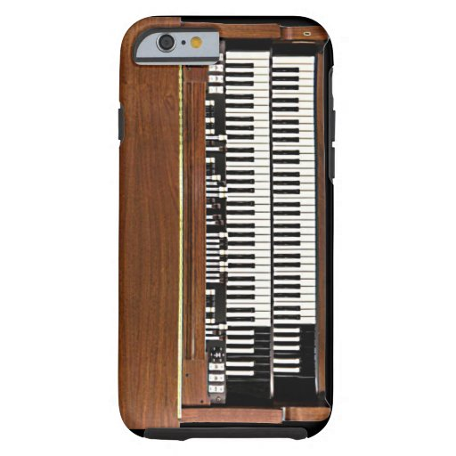 Vintage Hammond Organ iPhone 6 case