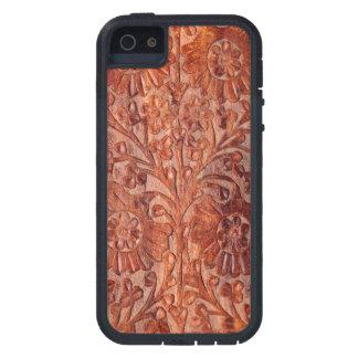 Vintage Hand Carved Wood iPhone SE/5/5s Case