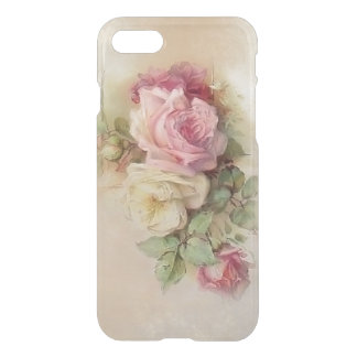Vintage Hand Painted Style Roses iPhone 7 Case