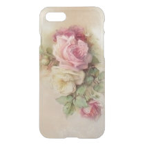 Vintage Hand Painted Style Roses iPhone 8/7 Case