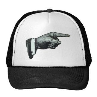 Vintage Hand Pointing Trucker Hat
