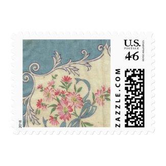 Vintage Handkerchief Postage Stamp