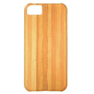 Vintage Handmade Golden Stripes - color match iPhone 5C Cover