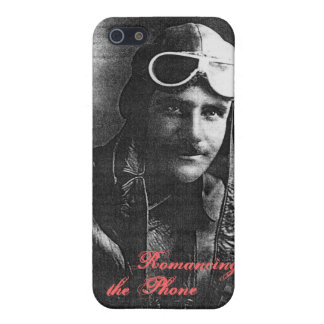 Vintage Handsome Aviator Savvy iPhone 5 Case Funny
